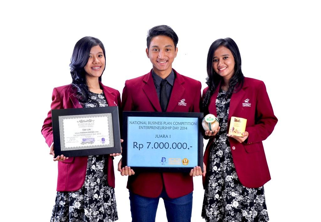 Avosee  Juara I National Business Plan Competition di Bandung