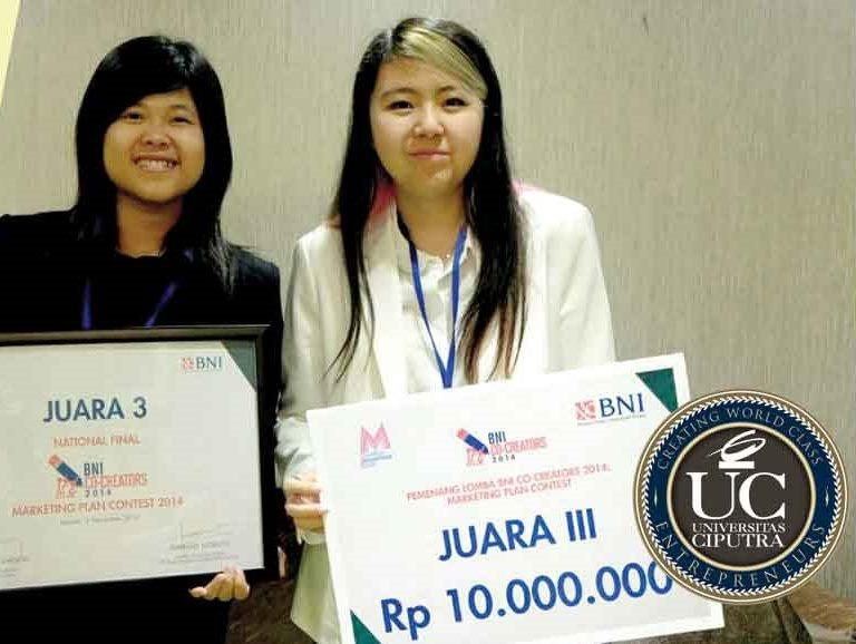 "Mahasiswa IBM JUARA 3 Kompetisi Nasional ""BNI Co-Creators 2014: Marketing Plan Contest"""