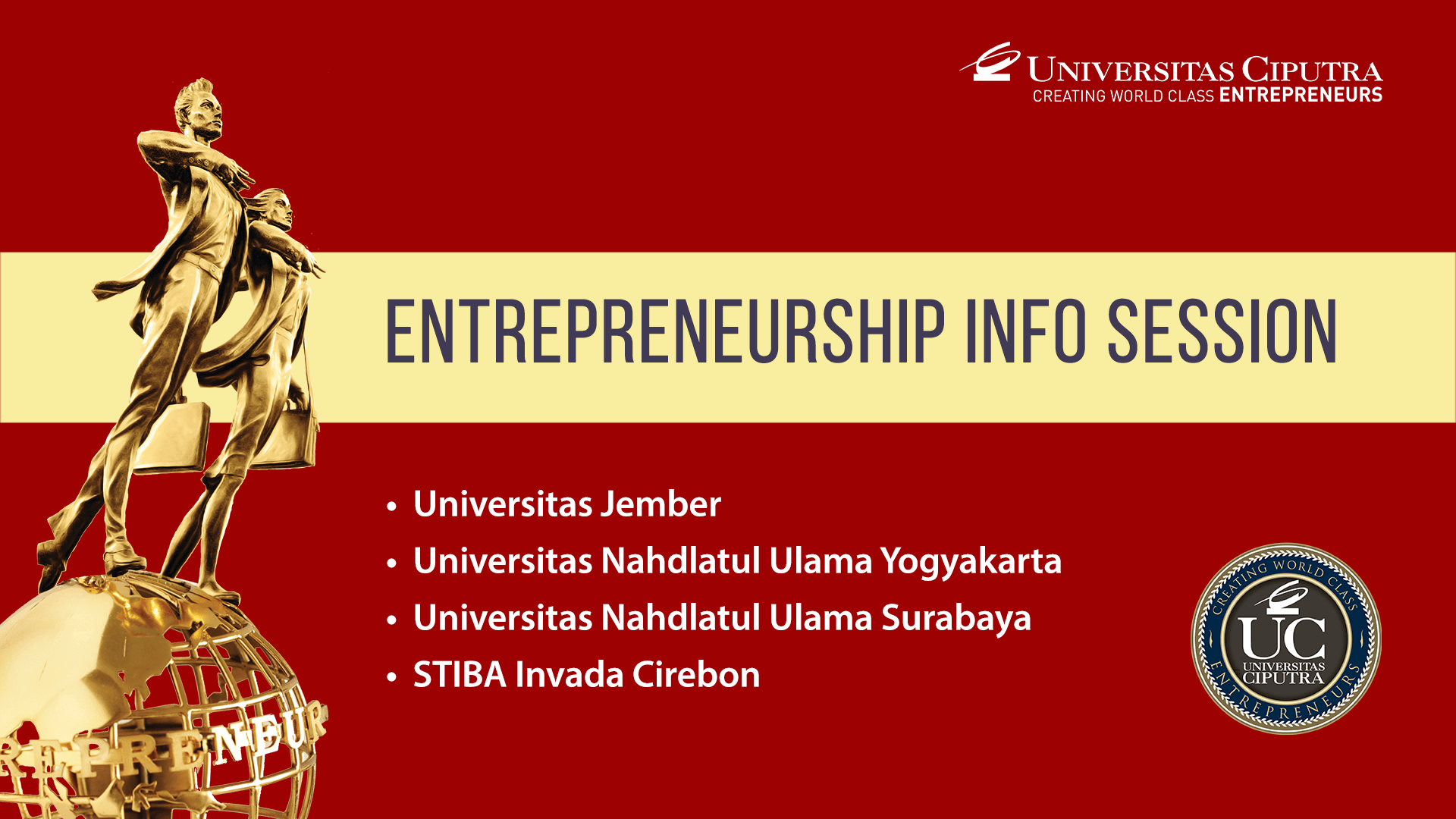 Entrepreneurship Info Session
