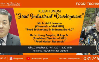 """FOOD INDUSTRIAL  DEVELOPMENT"""