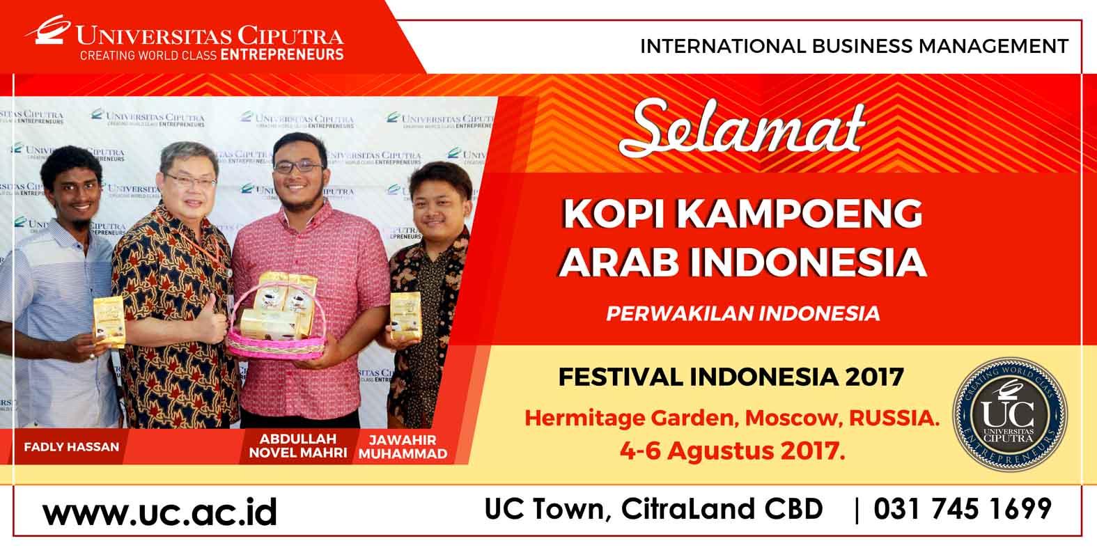 KOPI KAMPOENG ARAB INDONESIA