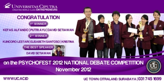 PSYCHOFEST National Debate