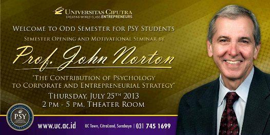 Prof. John