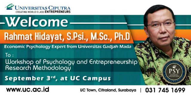 Workshop Psychology and Entrepreneurship