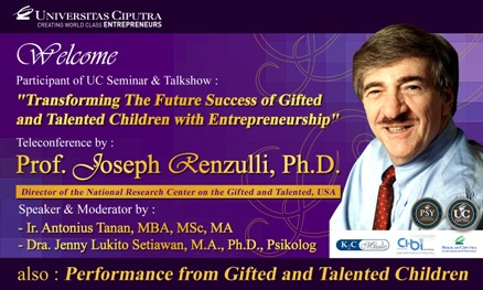 Seminar and Talkshow Gifted Child