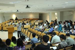 Seminar Statistika di Fakultas Psikologi UC