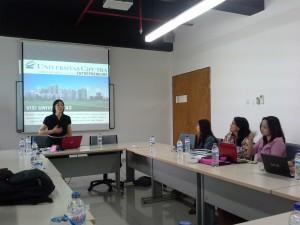 Workshop bagi Pengajar di Fakultas Psikologi UC