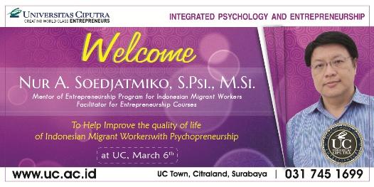 Psychopreneurship Workshop