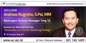 Projek Bersama Tong Tji dan Mahasiswa Psikologi UC