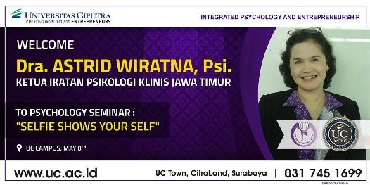Dra. Astrid Wiratna, Psi