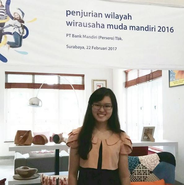 Vania Raih Juara II Wirausaha Muda Mandiri 2017 Kategori Kreatif