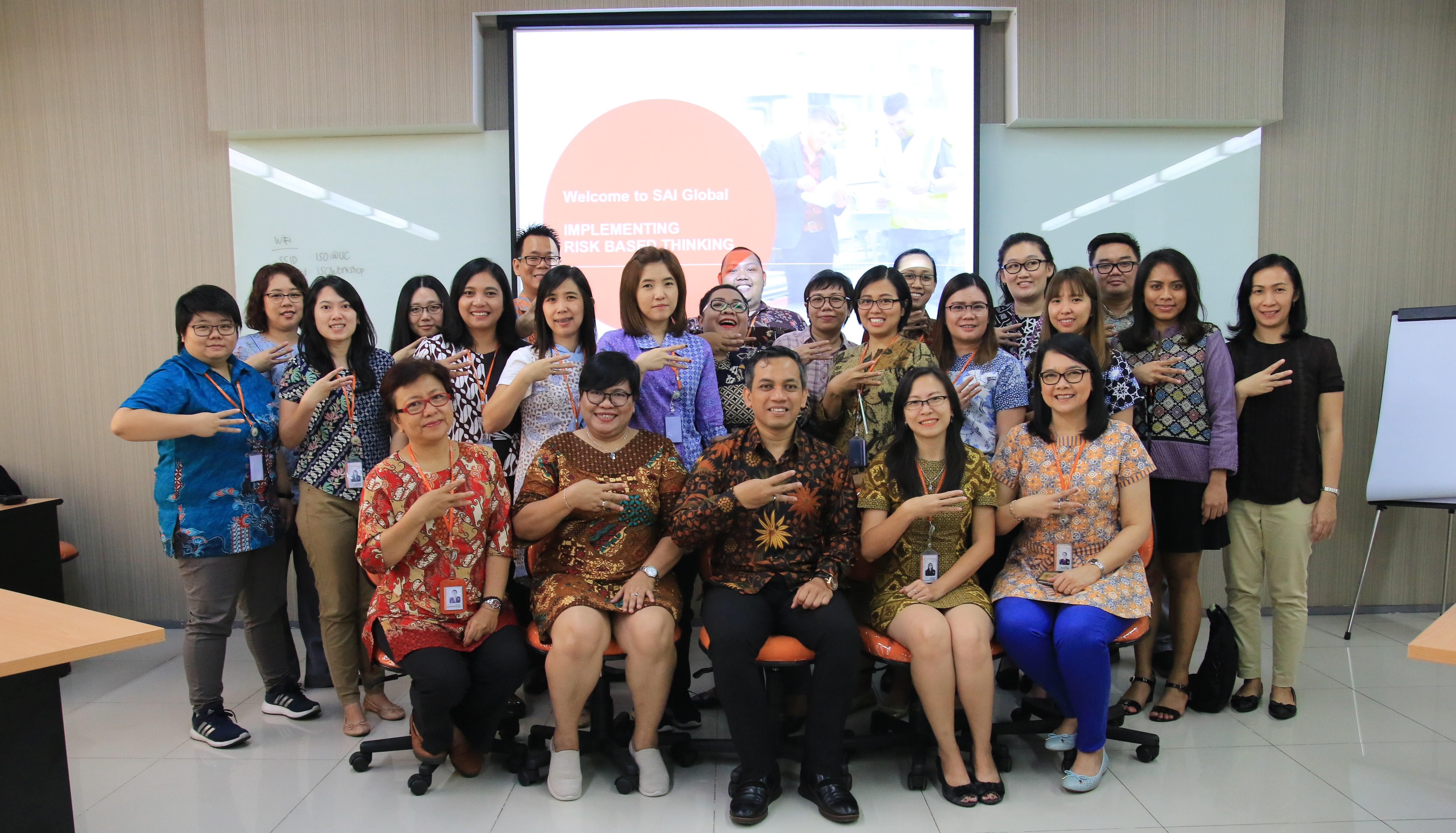 Workshop Risk Based Thinking ISO 9001:2015
