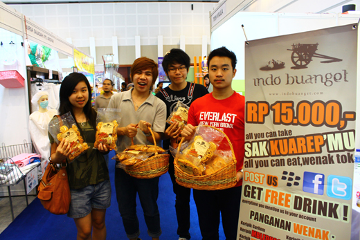 Indobuanget @ Jatim Fair 2011