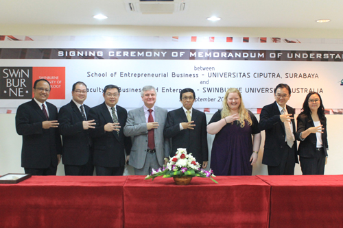 MoU UC with Swinburne University