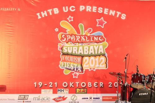 Sparkling Surabaya Tourism Fiesta 2012