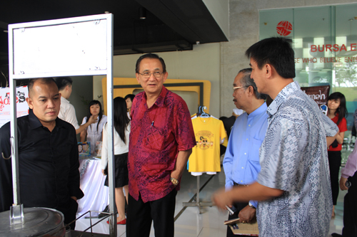 Kunjungan Universitas Pembangunan Jaya