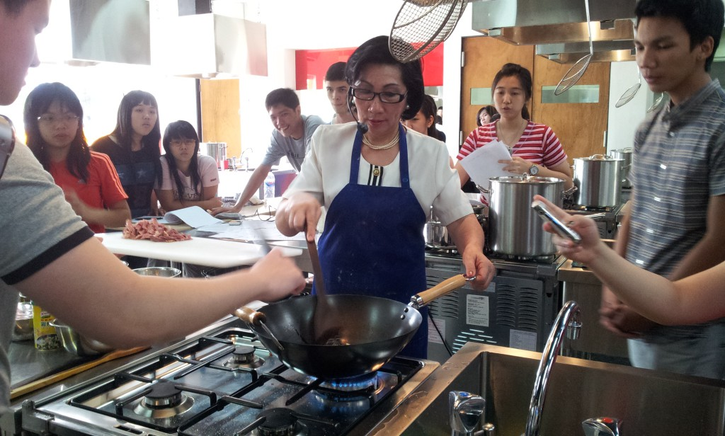 Fettuccine & Picnic Snack Workshop by Mrs. Anneke M. Mandang