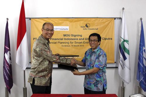 MoU – UC dan PT Sun Life Indonesia