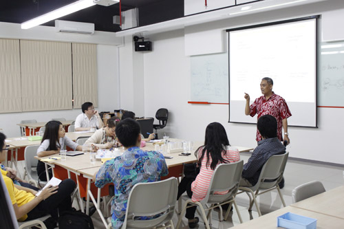 Graduate School – Kuliah Dosen Tamu (5-7 April 2013)