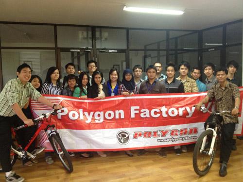 Kunjungan Perusahaan Polygon (BIS'11)