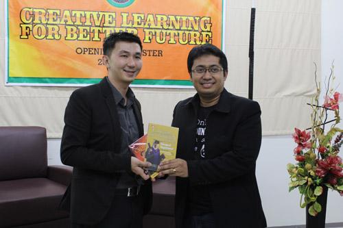 Opening New Semester jurusan IBA UC 2013