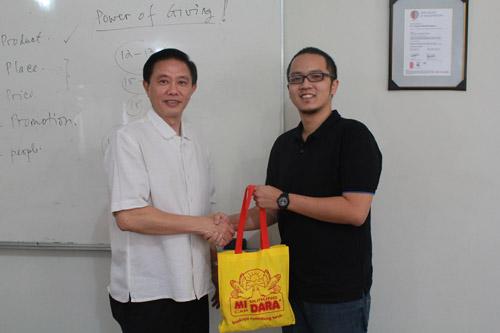 Company Visit pabrik Mie Burung Dara (PT Suprama)