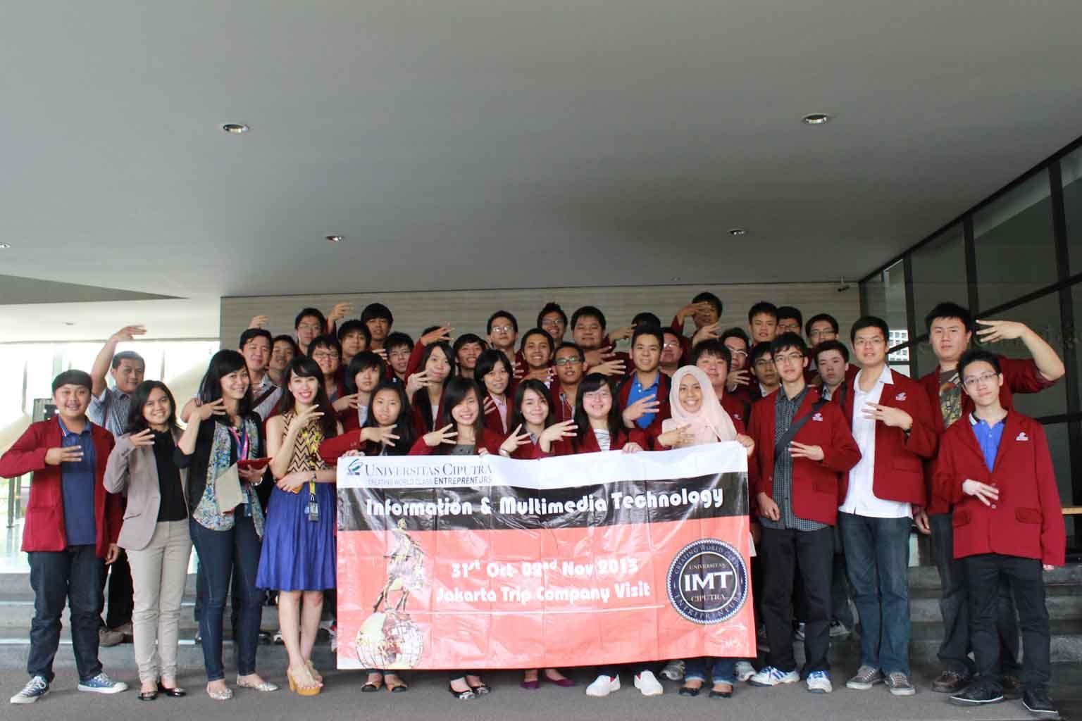 Studi Ekskursi Nasional Information and Multimedia Technology