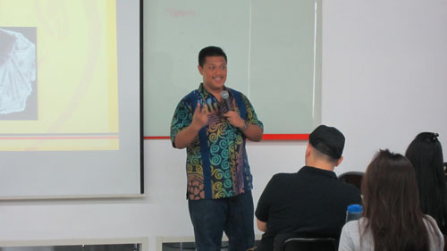 Hendy Setiono di Universitas Ciputra