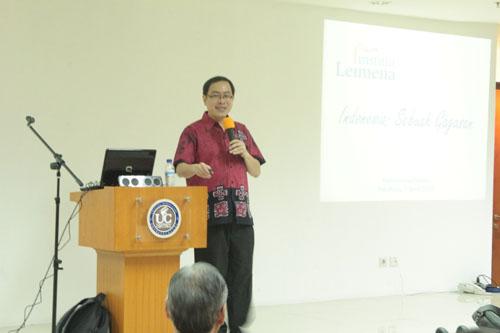 Leimena Institute Seminar untuk Mahasiswa Universitas Ciputra