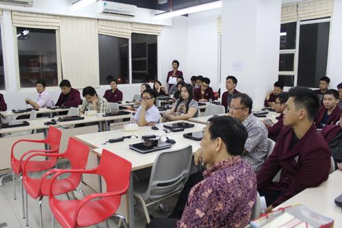 Peserta Coonference GIST Mahasiswa Universitas Ciputra