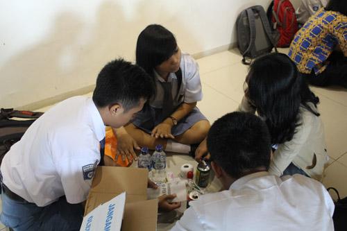 Siswa siswi SMA Sooko Mojokerto