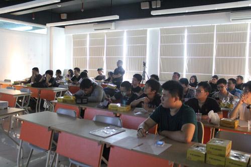 Peserta seminar sayogo enterprise di Universitas Ciputra