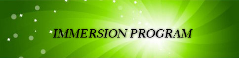 IMMERSION PROGRAM