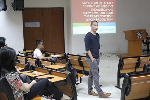 Ijo Wira pembicara di acara VCD UC
