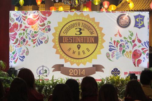 Surabaya Tourism Destination Award 2014