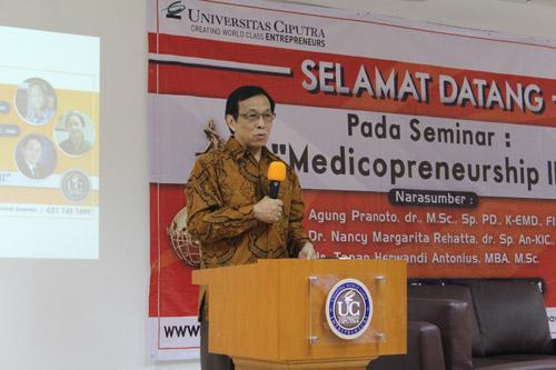 Ilmu Kedokteran juga perlu Entrepreneurship