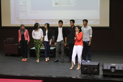 Peserta seminar dare fashion dan image consulting