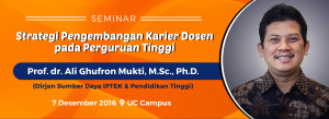 Seminar Strategi Pengembangan Karier Dosen Pada Perguruan Tinggi