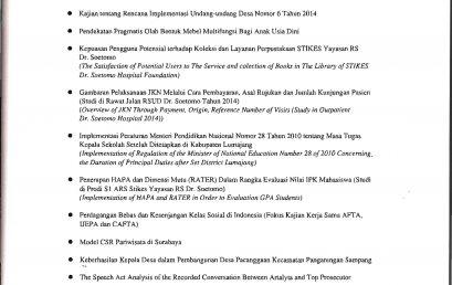 Model CSR Pariwisata Perkotaan di Surabaya
